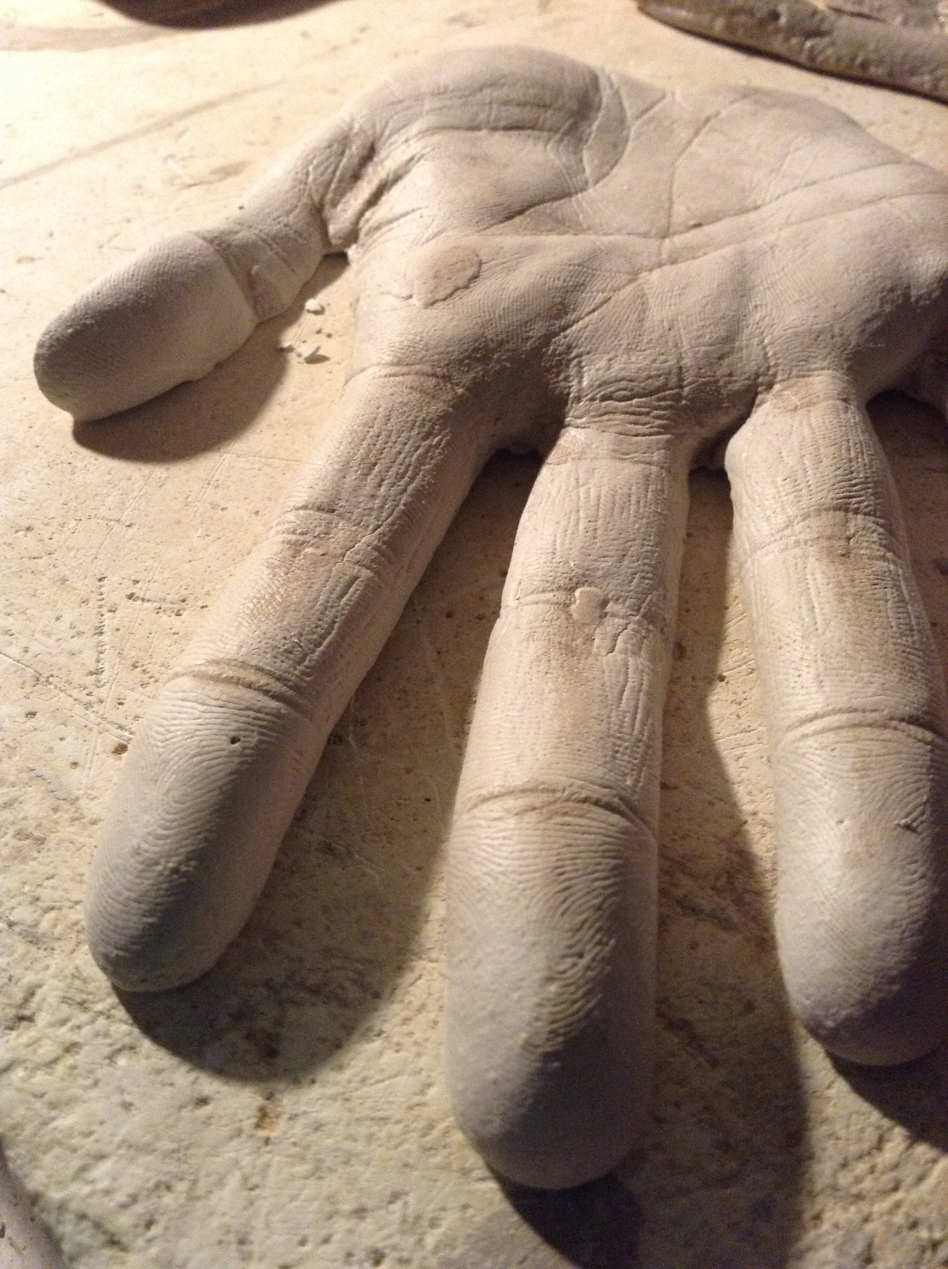 Clay Hands City Monument [in progress]