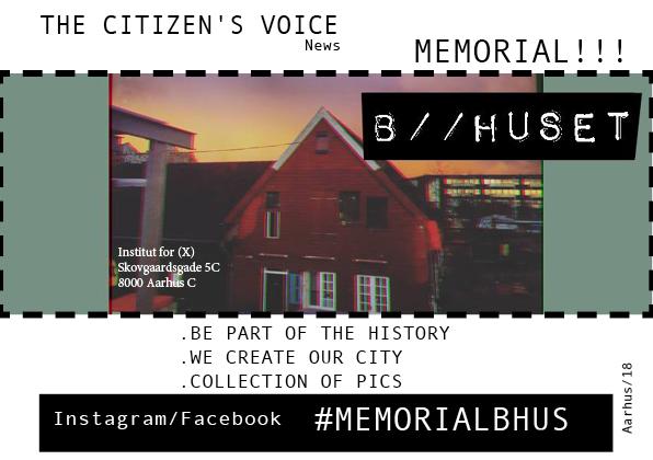 Memorial B//HUSET – Public Documental Book